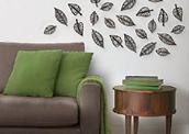 Duurzame wanddecoratie