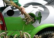 Bio ethanol brandstof auto